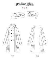 Quart Coat  Pauline Alice
